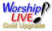 Worship LIVE! for Churches GOLD Upgrade